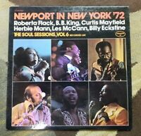 "1972 Curtis Mayfield ""Newport in New York '72"" LP -  Cobblestone Records - EX+"