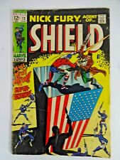 Marvel Comics Nick Fury Agent of SHIELD #13 July 1969 1st app Super-Patriot