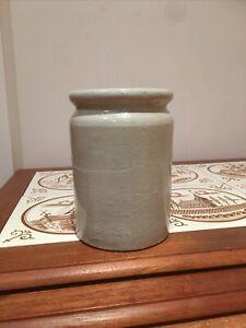 Vintage Golden Shred Brand Marmalade/ Jam Pot/ Jar Glazed Stoneware