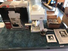 Salton Cappuccino Exprés Espresso Maker Used