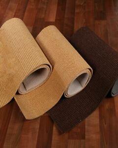 Hand Woven Floor Area Throw Rugs, Remnants 100% Natural Sisal Beige Rug, 20Lbs