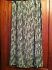 Womens Wrap Skirt UK 16 M&S Firn Patterned Light Weight (B34)