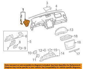 55650-53041-C0 Toyota Register assy, instrument panel, no.1 5565053041C0, New Ge