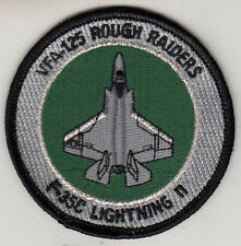 VFA-125 ROUGH RAIDERS F-35C LIGHTING ll SHOULDER PATCH