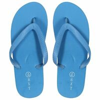 NEW LADIES WOMENS UNISEX GIRLS BOYS SUMMER BEACH SPORTS RETRO FLIP FLOPS SHOES