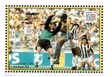 VINTAGE CLASSICS - Maldives 1951 - World Cup Costa Rica Vs Brazil - S/S - MNH