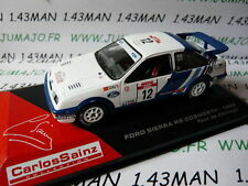 voiture 1/43 IXO altaya Rallye C.SAINZ : FORD SIERRA Rs cosworth 1988 CORSE