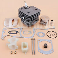 52mm Cylinder Piston Kit For Husqvarna 162 266 266SE Big Bore Saw Nikasil Coated