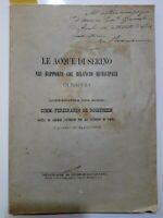 1893 - NAPOLI - ACQUE DEL SERINO