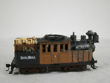 Logging Climax Steam Locomotive - HO scale - custom weathered -  DCC + Sound