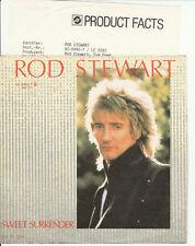 Rod Stewart-Sweet Surrender/Ghetto Blaster * 1983 * Top Single (M -:)) avec Info
