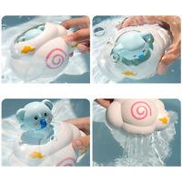 Animal Design Elephant Watering Bath Toys For Baby Hair Wash Tool Rain Cloud WA