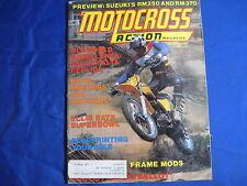 MOTOCROSS ACTION-DEC 1975-CZ250 FALTA REP-RM250/370-SUPERBOWL OF MX-500cc NAT