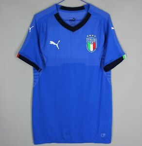 ITALY NATIONAL TEAM 2018 2019 HOME FOOTBALL SHIRT JERSEY PLAYER ISSUE PUMA (XL)