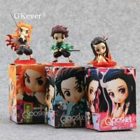 Demon Slayer: Kimetsu no Yaiba Kamado Nezuko Kamado Tanjirou Figure Toy 3pcs Set