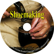 26 Vintage Books on CD, Ultimate Book Collection on Shoemaking