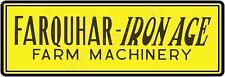 FARQUHAR-IRON AGE FARM MACHINERY 6