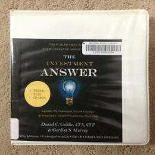 The Investment Answer~CD Audiobook Unabridged~Money Management~Goldie & Murray