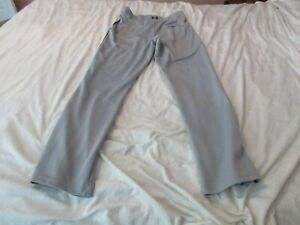 Men Under Armour Gray pants Adult Med       40