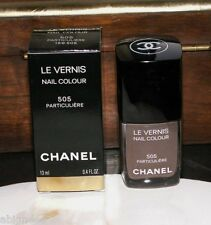 CHANEL Le Vernis 505 PARTICULIERE Brown Nail Polish Lacquer LIMITED EDITION BNIB