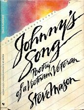 1986 VIETNAM VETERAN FIRST EDITION POETRY JOHNNY'S SONG WITH DUST JACKET GIFT