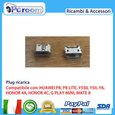 CONNETTORE RICARICA USB CHARGE CONNECTOR HUAWEI P8 LITE ALE-L21,