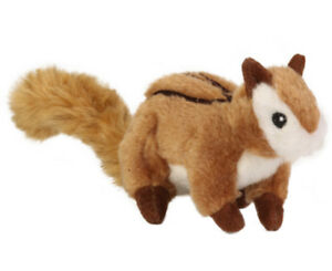 Sherpa Go Dog Squeaker WILDLIFE CHIPMUNK Dog Toy SMALL or LARGE
