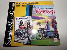 NORTON Motorräder 1902 bis 1998 * Schrader Motor Chronik
