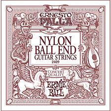 Ernie Ball 2409 Palla Nylon Classical Black & Gold Ball End Guitar Strings 28-42