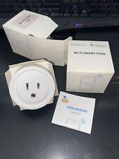 2x Wifi Smart Plug Remote Control Socket Outlet 10A works w/ Alexa & Google Home