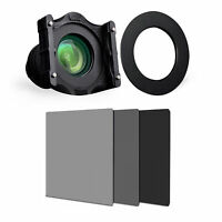 4*6 Full Neutral Density ND2 ND4 ND8 Filter+Holder+95mm Adapter Ring For Cokin Z