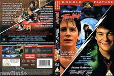 TEEN WOLF DVD 1 Y 2 ( SIN ABRIR ) MICHAEL J. FOX JASON BATEMAN PACK 2 PELICULAS