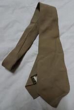 WWII Original US Army 1940's Tropical Summer Uniform Necktie Khaki/Tan Towncraft