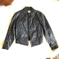 Levis Vintage Clothing RARE Distressed Leather Jacket