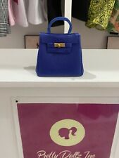Integrity Toys Barbie Doll Poppy  Nuface Fashion Royalty Kelly Royal Blue Purse