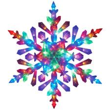"48"" Foldable Twinkling Led Lighted Snowflake Christmas Yard Decor"
