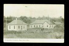 1913 Printed Photo Postcard Co-Operative Creamery Eagle Bend MN  B591