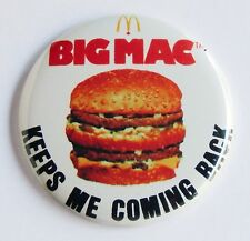 Big Mac FRIDGE MAGNET hamburger mcdonald's advertisement