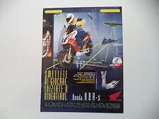 advertising Pubblicità 1998 HONDA X8R X8 R 50 S
