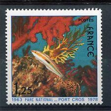 FRANCE 1978, timbre 2005, POISSONS, Parc National de Port-Cros, neuf**