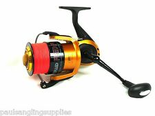 Red Power sea fishing reel tresse équipés pour plage beachcasting Pier Rod