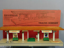 "VINTAGE FRENCH HORNBY   "" COUNTRY"" STATION  QUAI DEMONTABLE   VN MIB"
