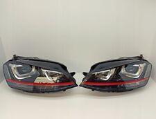VW Golf 7 VII GTI Bi Xenon Original (R+L) 5G1 941 032 A + 5G1 941 031 A