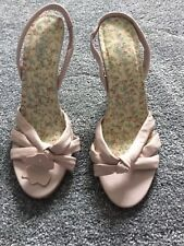 Zapatos de Cuero para Mujeres Nuevo Look Rosa Real