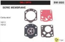 KIT MEMBRANE membrana CARBURATORE DELL'ORTO 16/11 16/12 motosega decespugliatore