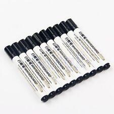 10pcs Whiteboard Marker White Board Dry-Erase Marker Pens Fine Zize Nip Black FA