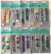 SWATCH BAND STRAPs - VINTAGE GENT MODELS 90'S 17MM - BLISTER PACKAGE