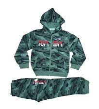 Jungen Camouflage Jogginganzug Trainingsanzug Sportanzug Jacke Hose Kombi Set