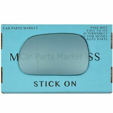 Left side Blue Wide Angle Wing door mirror glass for BMW z3 96-02