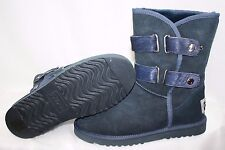 NEW Womens Size 11 AUSTRALIA LUXE Love Boots Gypsy Short Navy Blue GYP203N